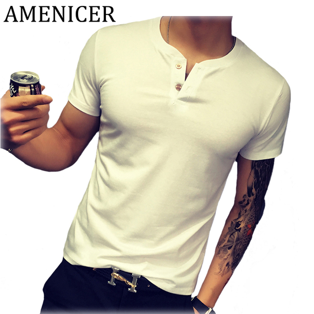 High Quality Solid Color T-Shirt For Men
