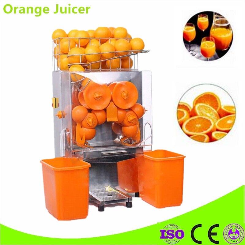 Коммерческий 110 В 220 В оранжевый соковыжималка автоматическая лимонного помело сок апельсиновый сжимая автомат апельсиновый сок maker