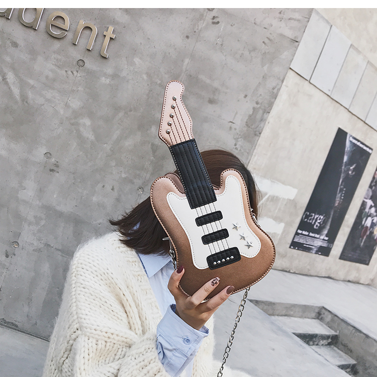 Bolsa Feminina Divertida Guitarra