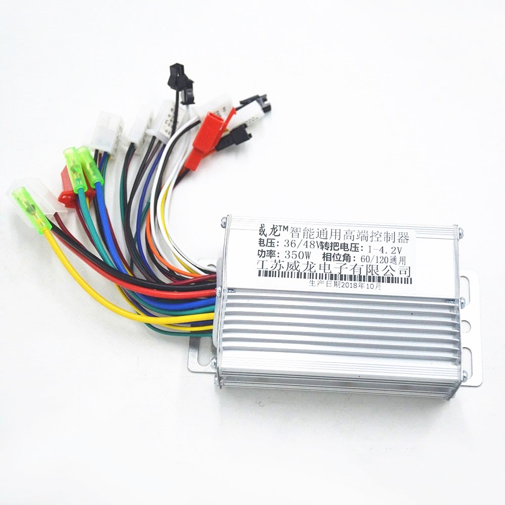 350W 36V 48V BLDC Speed Brushless E Bike Controller With Reverse For Electric Bike/Tricycle/ebike/xiaomi Scooter