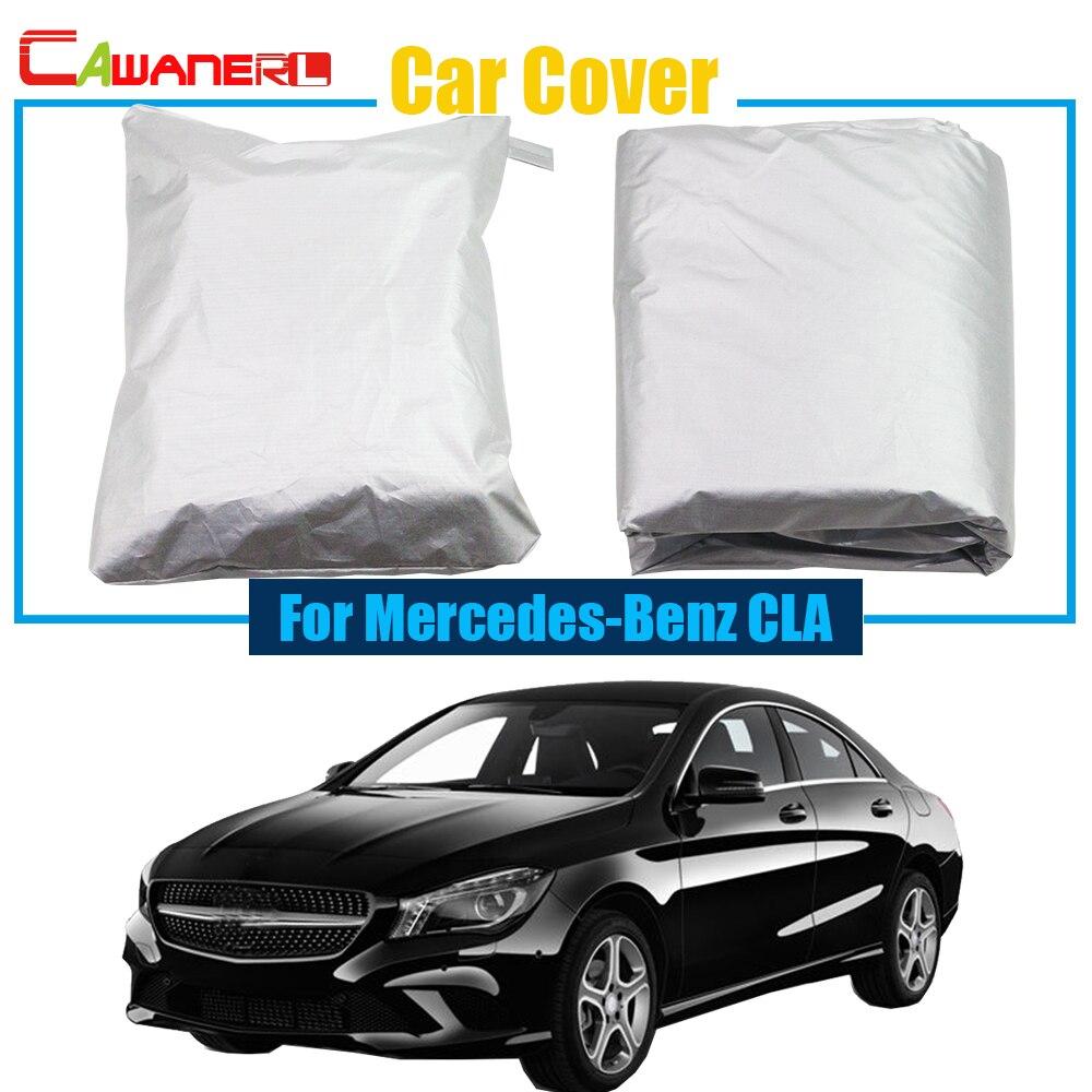 Cawanerl Car Cover Sun Sombra Tampa À Prova De Poeira Resistente Anti UV  Chuva Neve Sol Para Mercedes Benz CLA CLA Classe