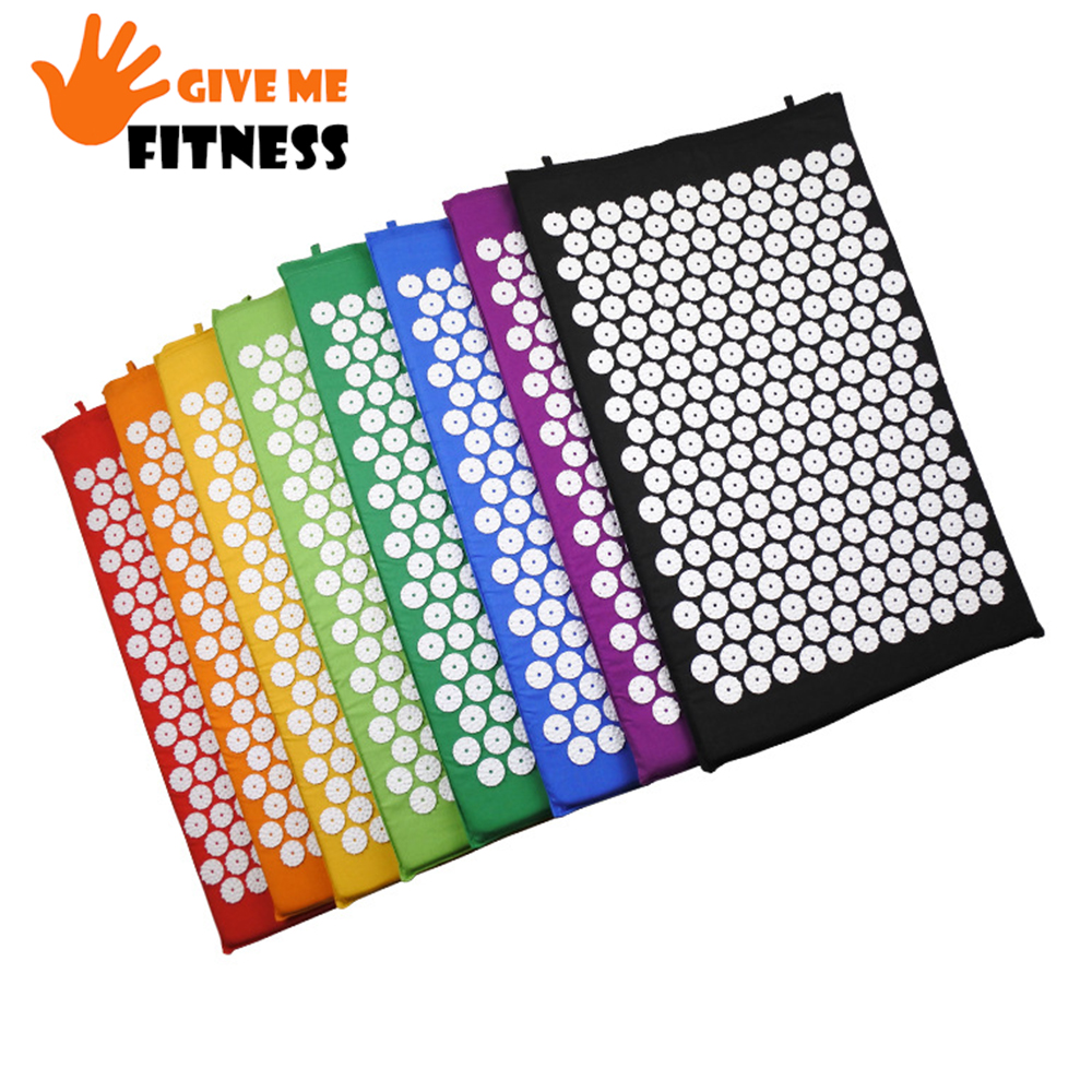 Cushion-Massager Acupressure-Mat Yoga-Mat Fitness Spiky Bed For Back/neck/foot-body Pain-Relief