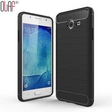 Углеродного волокна ТПУ Мягкий силиконовый чехол для телефона Samsung J5 J2 Премьер чехол для Samsung J5 2017 J5/ J510 2016 J1 мини премьер Капа