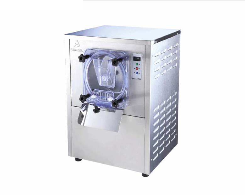 Commercial ice cream machine Hard Ice Cream Machine Ice cream maker 20L 1400W Y free shiping fried ice cream machine 75 35cm big pan with 5 buckets fried ice machine r22 ice pan machine ice cream machine