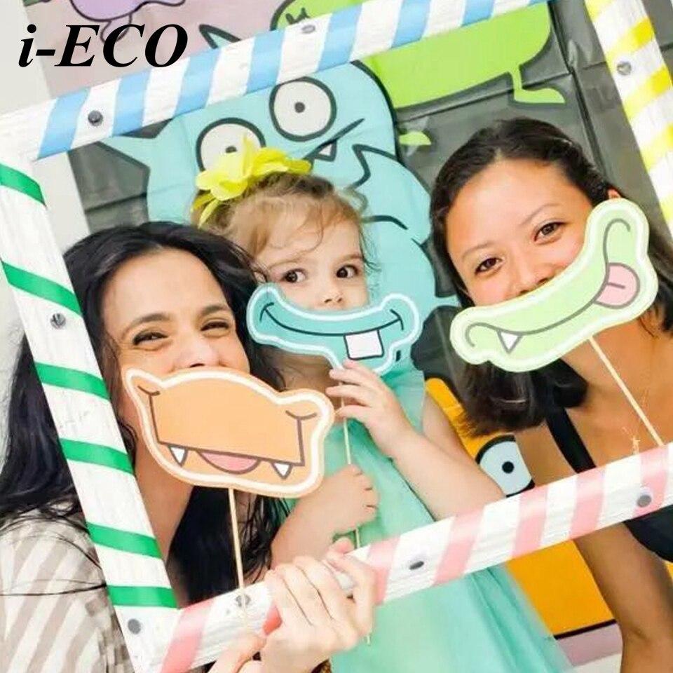 DIY Hippo Mouth Photo Props Funny Photo Frame Kids Toys Birthday ...
