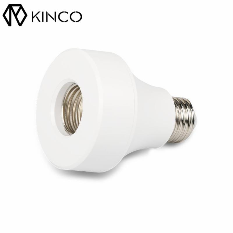 kinco e26 e27 ac100 240v 10a 40w pc wifi smart light bulb adapter lamp holder convenient app. Black Bedroom Furniture Sets. Home Design Ideas