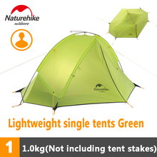 Naturehike 1/2 Person Ultralight Backpacking Tent Outdoor Camping Single Layer Waterproof Tent