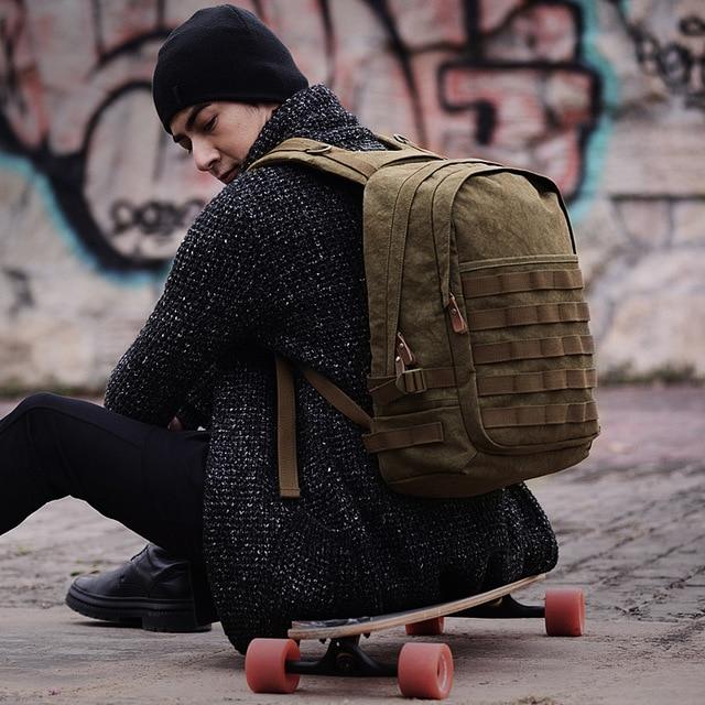 Рюкзак Muzee мужской, водонепроницаемый, для ноутбука 15,6 дюймов, с USB зарядкой