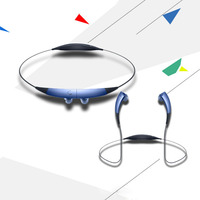 Vibrating Neckband Headset Sports Stereo Gear Circle Bluetooth Headset SM R130 Wireless Headphone Sports for Samsung LG Xiaomi