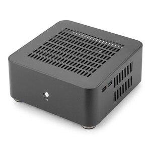 Image 2 - [[Nắp Trên Có Lỗ]] Mới L80S Máy Tính Trường Hợp Ốp Nhôm Để Bàn Máy Tính Lớn Dành Cho Game Khung Xe DIY MINI ITX ốp Lưng