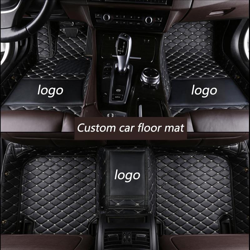 kalaisike Custom car floor mats for Chevrolet Aveo Captiva Sonic Sail Spark Blazer epica Camaro Equinox Cavalier Trax Cruze