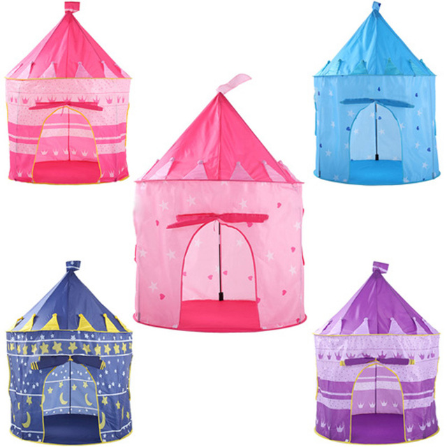 5 Color Children outdoor Tents Beach Tent Baby Toys Play Game House Kids Princess Prince Castle  sc 1 st  AliExpress.com & 5 Color Children outdoor Tents Beach Tent Baby Toys Play Game ...
