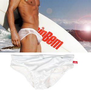 Swimming Briefs Shorts Beach-Board Transparent Gay Men's Low-Waist Masculina Sunga