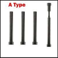 25mm OD 25*190/200/210/220 12.9 Grade M16 Female Thread A Type Screw Plastic Mold Leader Sprue Puller Pin