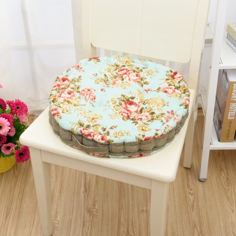 Cotton font b seat b font font b cushion b font Korean fashion personality round font
