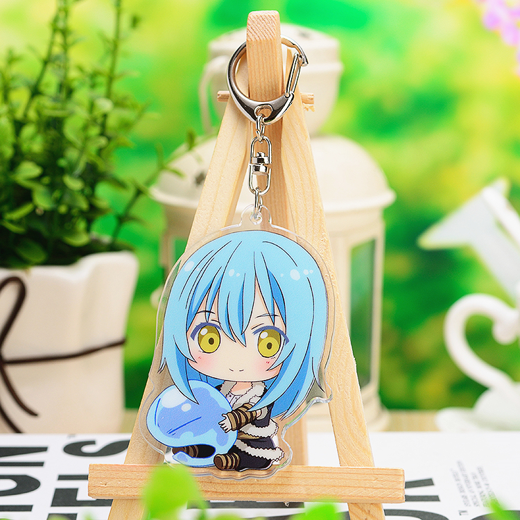 Anime That Time I Got Reincarnated As A Slime Rimuru Tempest Benimaru Shuna Acrylic Keyring Pendant Bag Phone Pendant Gift