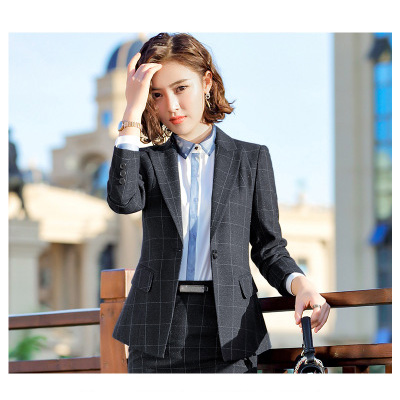 Dress Suits Painstaking Wyxtreme High Quality Lady Office Dress Suit Women Ladies Blazer Suit Jackets And Dresses Blazers Suits Work Wear Uniform Dependable Performance