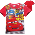 Fashion Cartoon Cars Boys T-shirt New Summer Short Sleeve Cotton Boys T Shirt Cotton Baby Clothes Kids Tops Tees