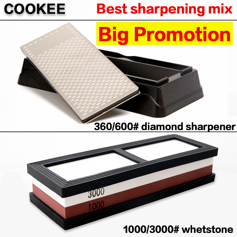 1000/3000 # whetstone Diamond whetstone 360/600 # grit whetstone - Kök, matsal och bar