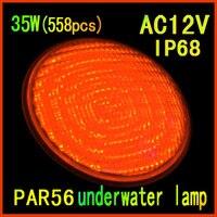 Fabriek directe verkoop 2014 van de nieuwste led zwembad 35 W (558 stks) enkele kleur 12 v onderwater led verlichting gratis verzending-in LED Onderwater Verlichting van Licht & verlichting op