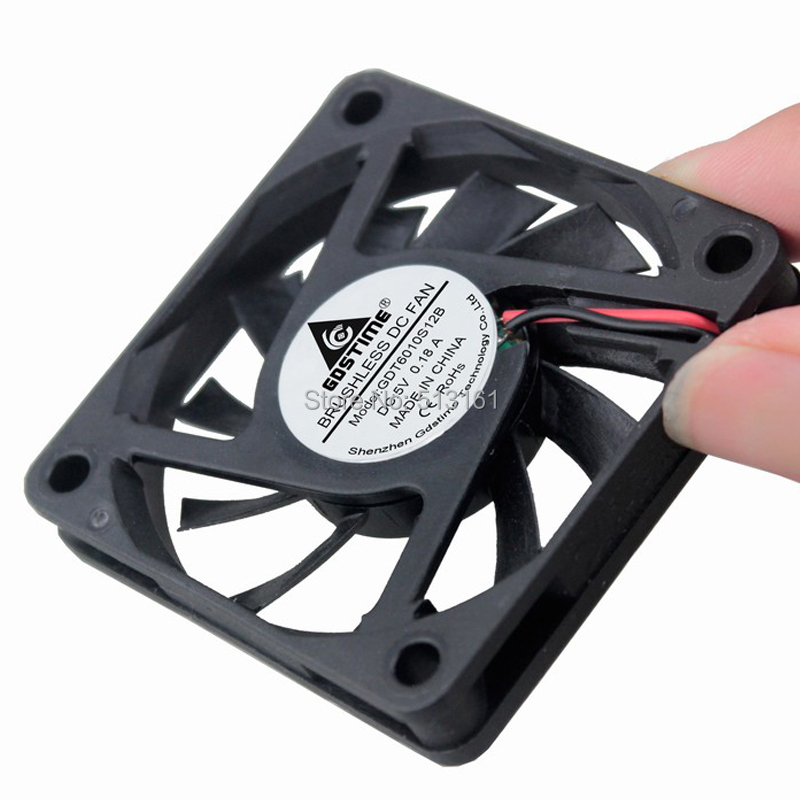 5v dupont 60mm fan 12