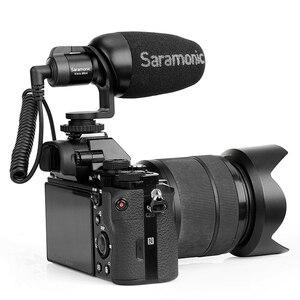 Image 3 - Saramonic Vmic Mini Kondensator Mikrofon mit TRS & TRRS Kabel Vlog Video Aufnahme Mic für iPhone Android Smartphones PC Tablet