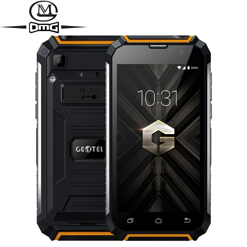 Geotel G1 7500mAh power bank smartphone 5.0 Andriod 7.0 MTK6580A Quad core cell phone 2GB+16GB 8.0MP phones GPS 3G mobile phone