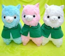 1pc 35/50cm Japanese Alpacasso Alpaca Soft Stuffed Animals Doll Toys Kawaii Sheep Lama Alpaca Plush Toys For Kid Christmas Gifts недорого