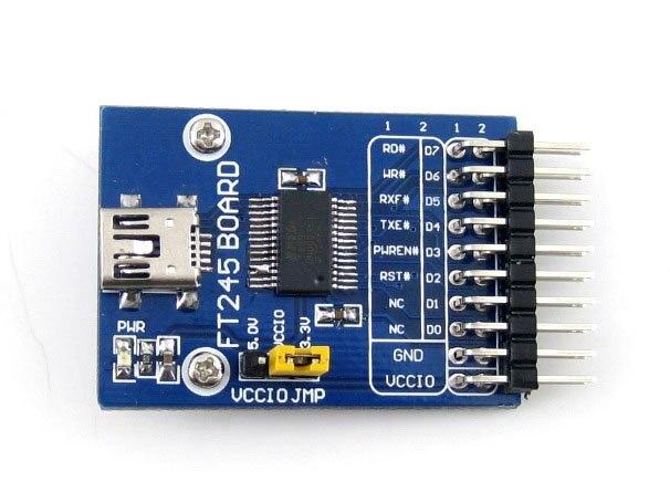 FT245 USB FIFO Board (mini) FT245R FT245RL Evaluation Development Board Module Kit USB TO Parallel FIFO