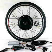 Ebike велосипед комплект 48 В 500 Вт 1000 Вт 1500 Вт 20 24 26 28 27,5 29 ЖК дисплей Электрический велосипед заднее колесо Conversion Kit
