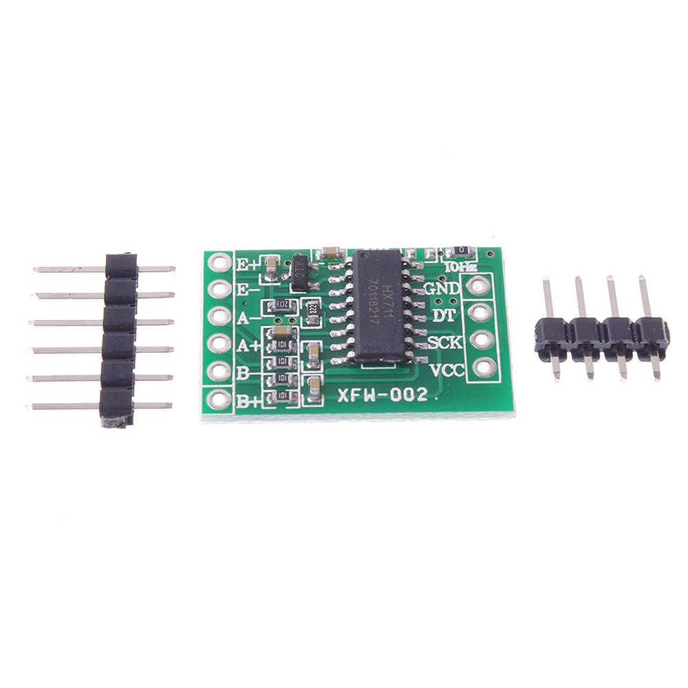 Dual Channel HX711 Weighing Pressure Sensor 24-bit Precision A/D Module DIY Electronic Scale For Arduino diy kit