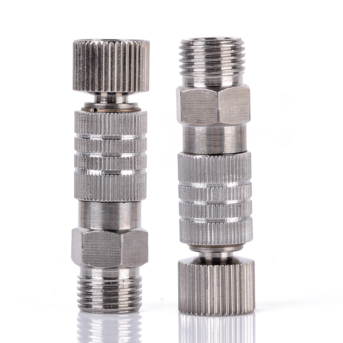 Mayitr 1/8inch Airbrush Quick Release Adaptor Durable Metal Coupler Fitting Coupling Connector 4x1x0.8cm