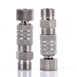 Mayitr 1/8inch Airbrush Quick Release Adaptor Durable Metal Coupler Fitting Coupling Connector 4x1x0.8cm(China)