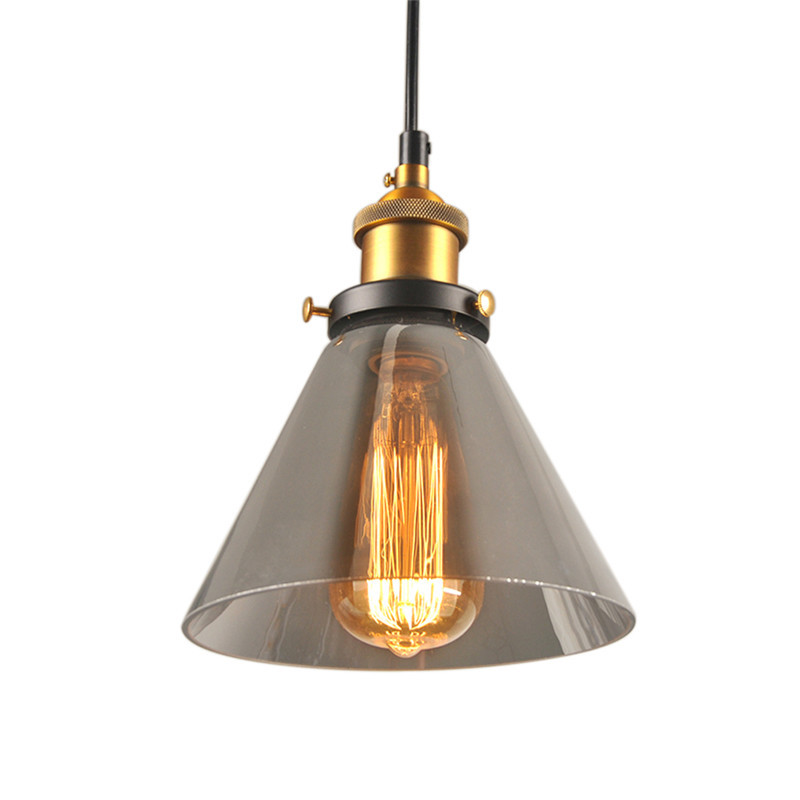 lampadario Industrial Pendant Lighting Copper Lamp Holder Pendant ...