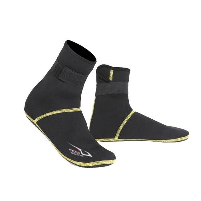 Neopren Dalış Tüplü Dalış Ayakkabı Çorap 3mm Plaj Çizmeler Wetsuit Anti Çizikler Isınma Anti Kayma Kış Swimware