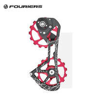 Fouriers Road Bike Ceramic Pulley Wheel 15T Rear Derailleur Pulley Drivetrain For Red e tap 22 Speed Bicycle pulley