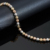 Jeweast 2017 18 k três pulseira nova pulseira de ouro da moda e belas jóias de ouro para o casamento & engagement ceremon diamante-jóias