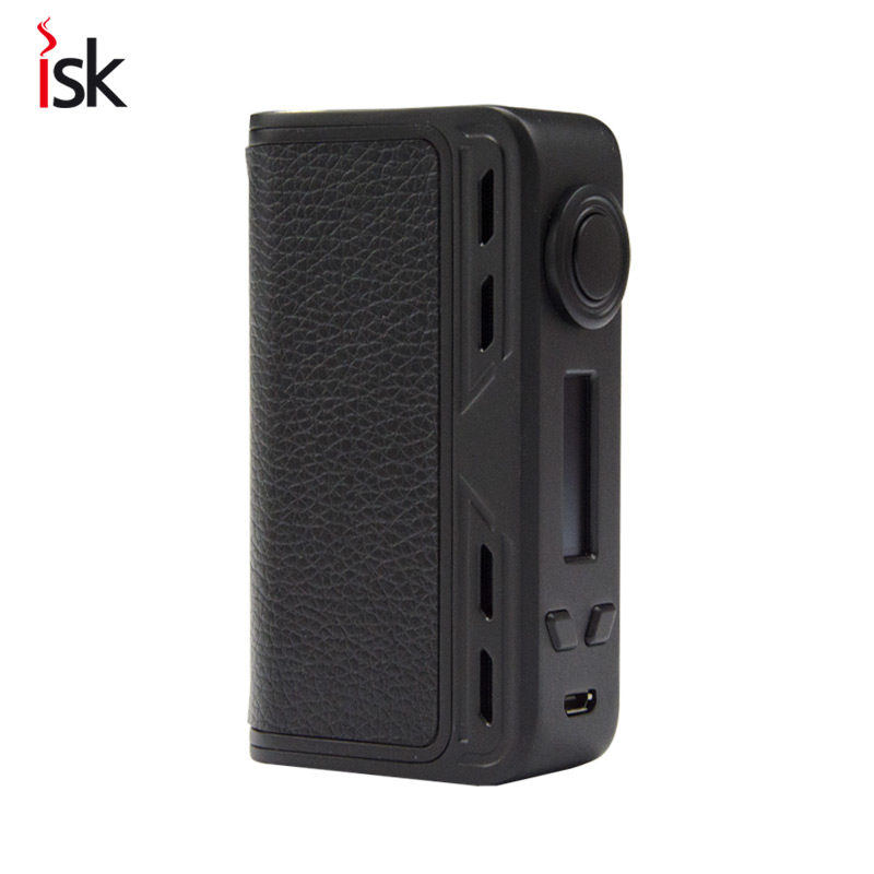 Original electronic cigarette mod vape pen Smoant Charon 218W TC Box Mod mechanical mod Leather Cover free shipping limitless pulse pod vape pen system