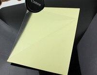 10 Sheets Lot Clear Transparent Self Adhesive Vinyl Film Label For Laser Printer