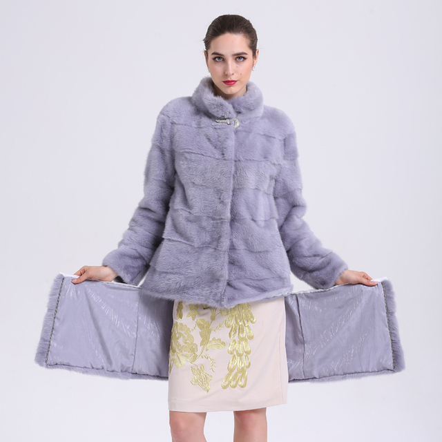 Real Fox Fur Coat 2017 Best Selling Fashion,Young Women Mink Fur ...