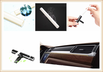 Mini Car Air Export Aromatherapy Stick Freshener Perfume Supplement for Mercedes Benz GLS63 GLS GLE43 B55 Shooting S400 ML450 image