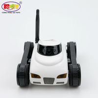 2017 Mini RC Spy Tank Car FPV 0 3MP Camera WiFi Remote Control Deformable Support IPhone