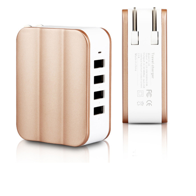 US $12 84 |IMEANING New arrival 4USB charging mobile phone charger  intelligent mobile phone plug head universal Android mobile phone plug-in  Chargers