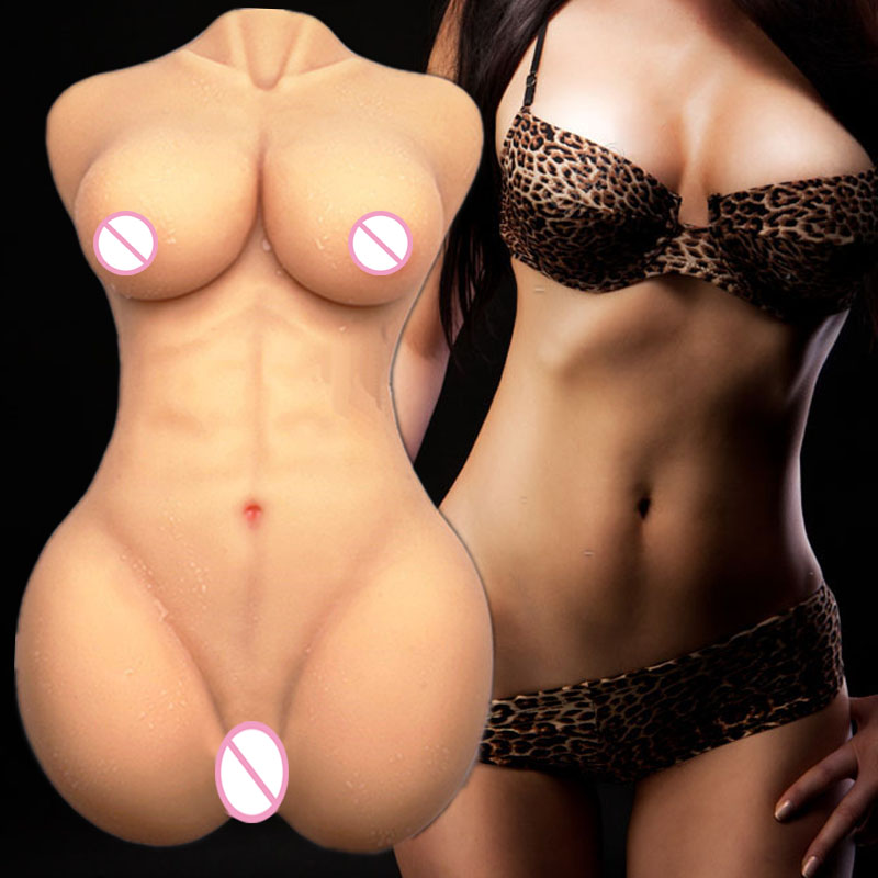 Big breast real sized sex doll for men Japanese lifelike silicone sex dolls realistic vagina real pussy masturbator toys torso in Sex Dolls from Beauty Health