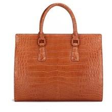 Gete import mist Nile crocodile male purse enterprise bag luxurious crocodile stomach bag males