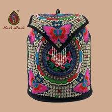 На продаж Богемия Холст Женщины Рюкзаки Мода Повседневная крышка туристические рюкзаки
