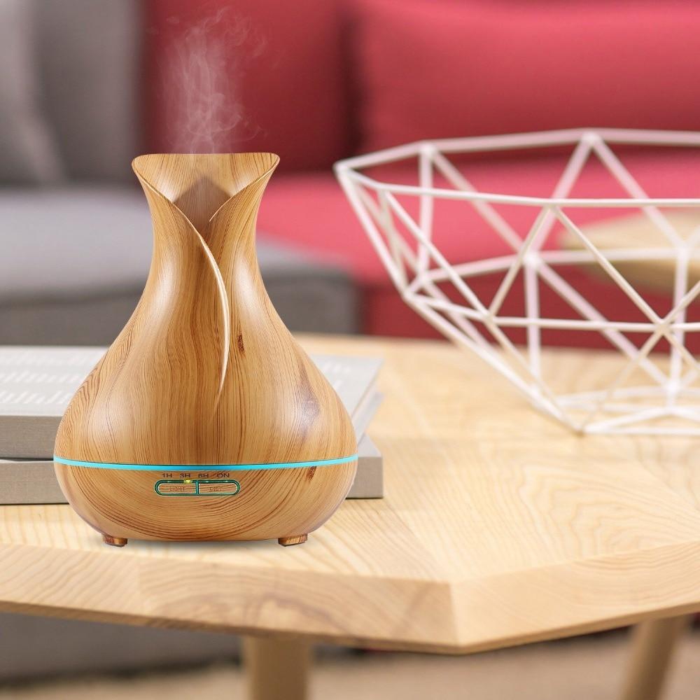Aromacare 400ml vlažilni obliko vaze Les Grian Humidificador - Gospodinjski aparati - Fotografija 2