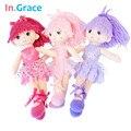 No. Graça Bailarina menina bonecas bonitas handmade princesa meninas dançando bonecas do casamento presentes originais para crianças menina de 12 polegadas 3 cores