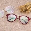 Новейшие Тенденции Суперзвезда Стиль Light Уютный Сплава Очки Рамка Мужчины Женщины Оптические Очки Компьютерные Очки Очковая оправа Óculos