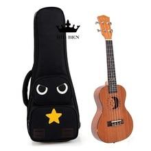 Δωρεάν αποστολή 21 ιντσών μικρή κιθάρα τσάντα, 23 26 ιντσών Ukulele σακούλες